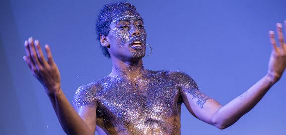 Malik Nashad Sharpe at Joy & Dissent, Hackney Showroom – Photo by Julia Bauer
