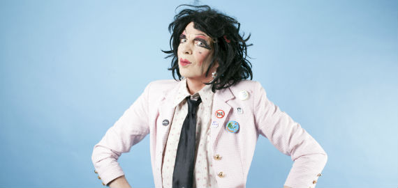 The Prime Of Ms David Hoyle by Lee Baxter